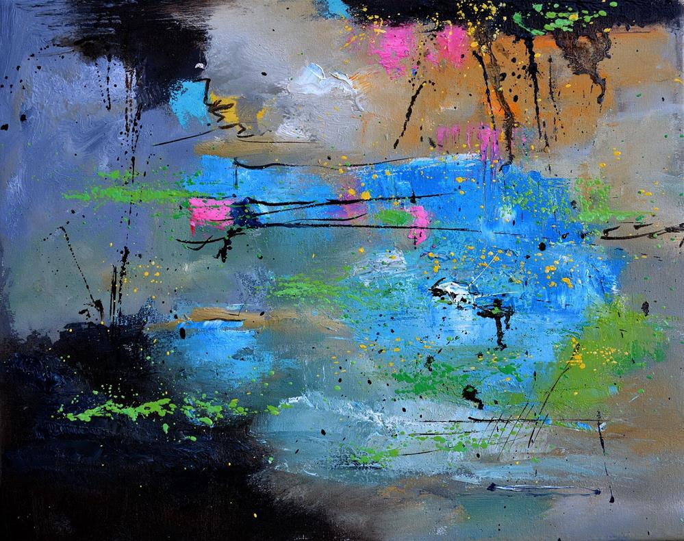 """abstract 545121"" original fine art by Pol Ledent"