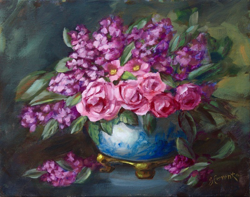 """A Modest Proposal"" original fine art by Sue Cervenka"