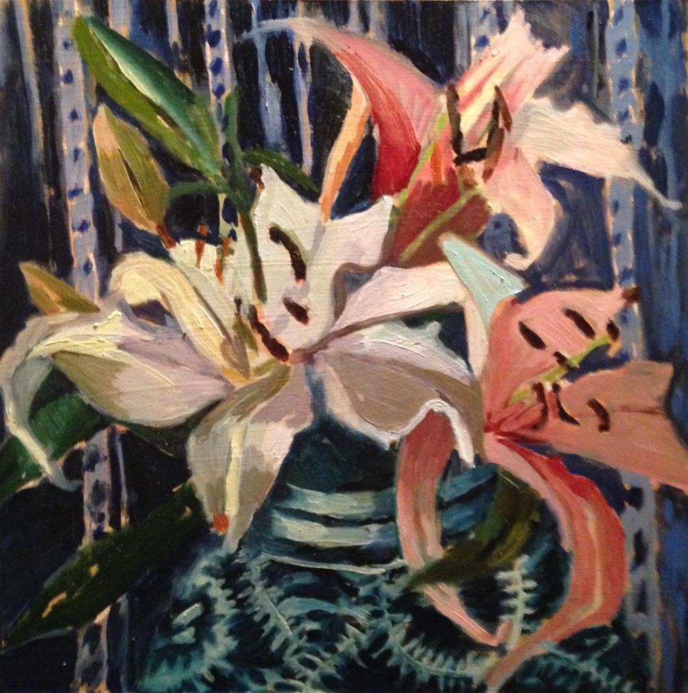 """Three Dancers"" original fine art by Pamela Hoffmeister"