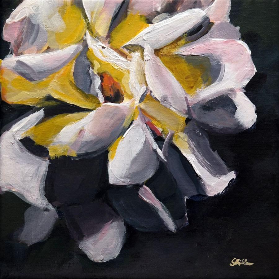 """""""1397 Rose Challenge (interim)"""" original fine art by Dietmar Stiller"""