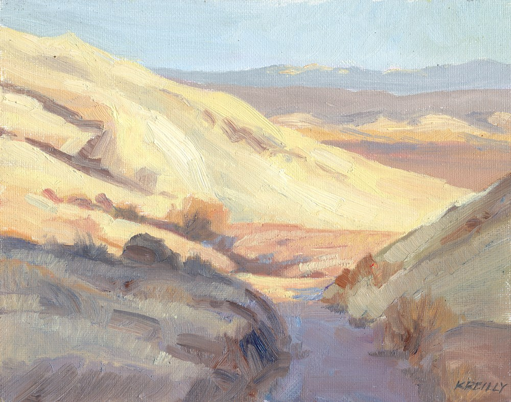 """Mouth of the Canyon"" original fine art by Kath Reilly"