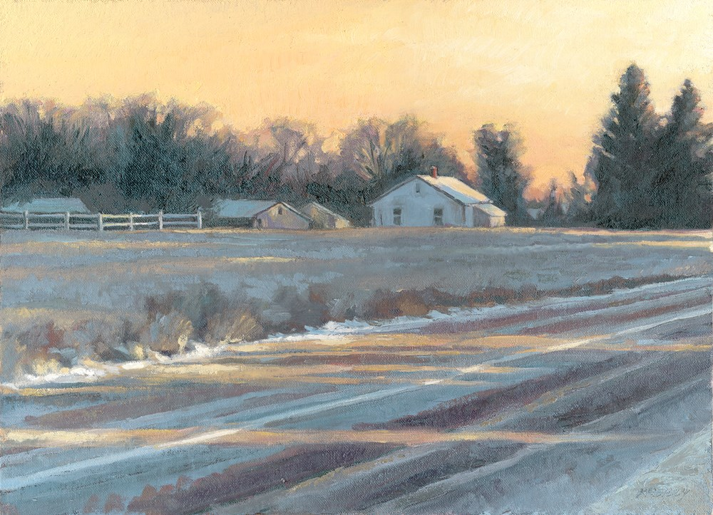 """""""9th & Pace"""" original fine art by Kath Reilly"""