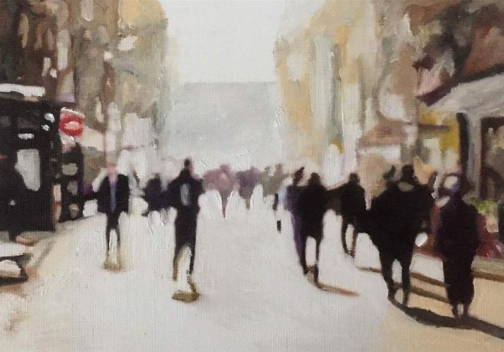 """Afternoon Walk"" original fine art by John Cameron"