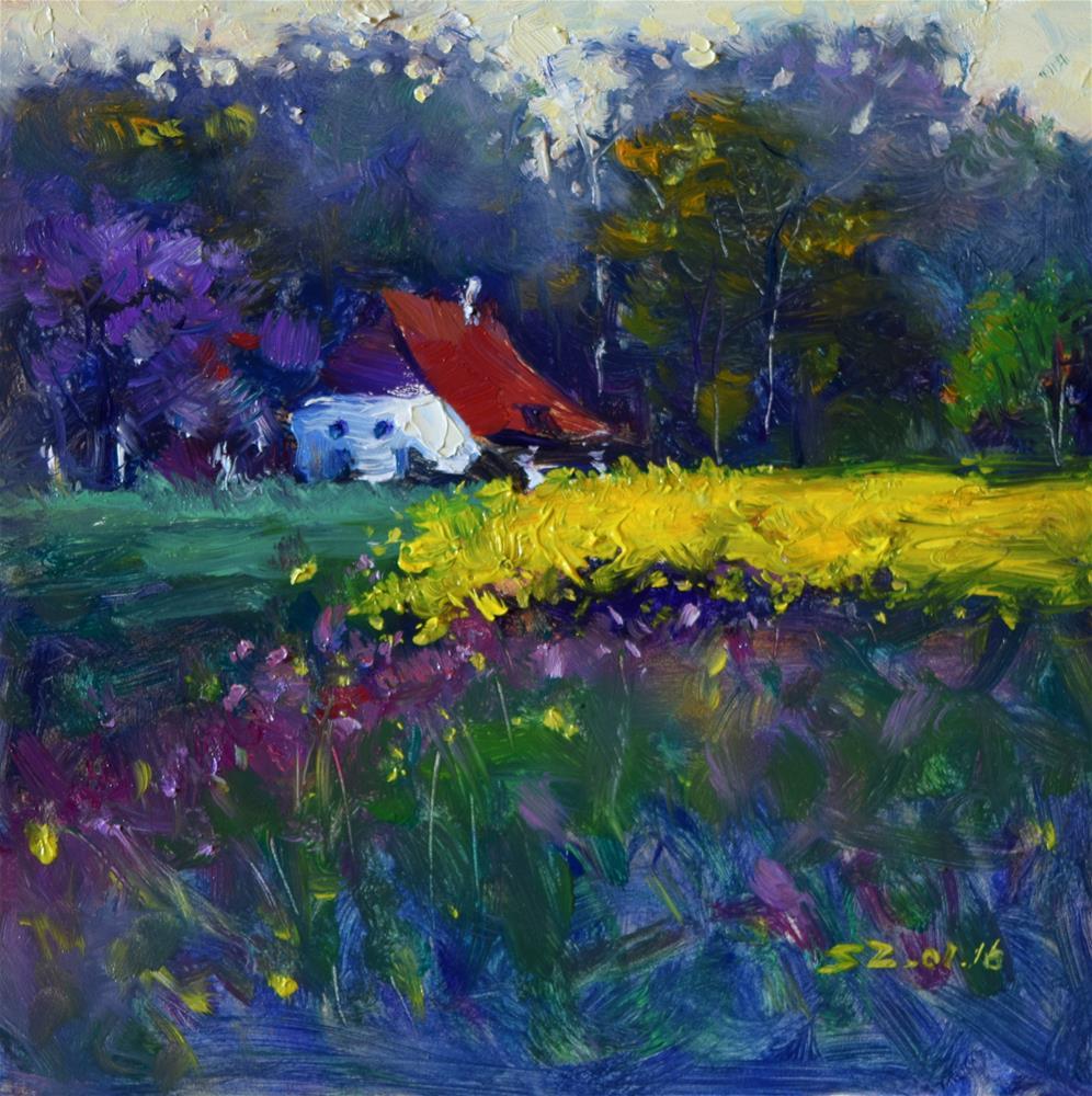 """September Outing"" original fine art by Sabrina Zhou"