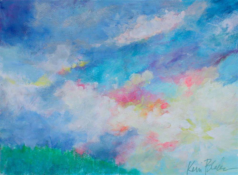 """Morning in the Mountains "" original fine art by Kerri Blackman"