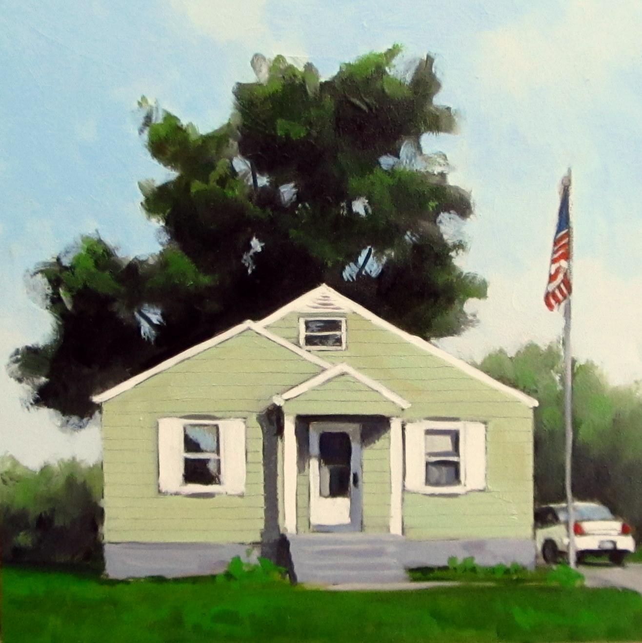 """DAILY DIAPER #196 Working Class"" original fine art by Brian Burt"