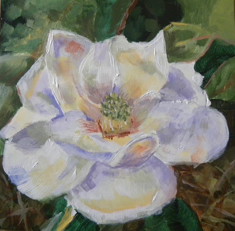 """Magnolia"" original fine art by cheryl buhrman"