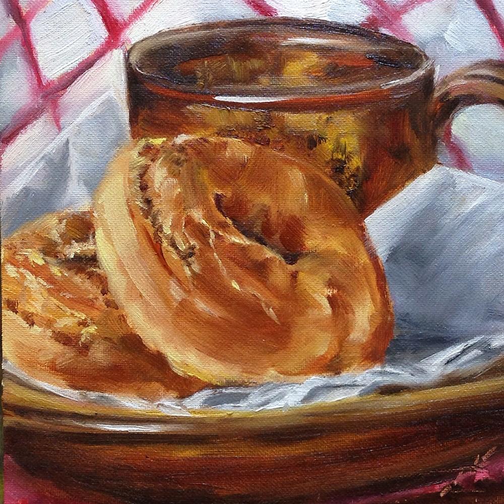 """Old Fashioned"" original fine art by Linda Lowery"