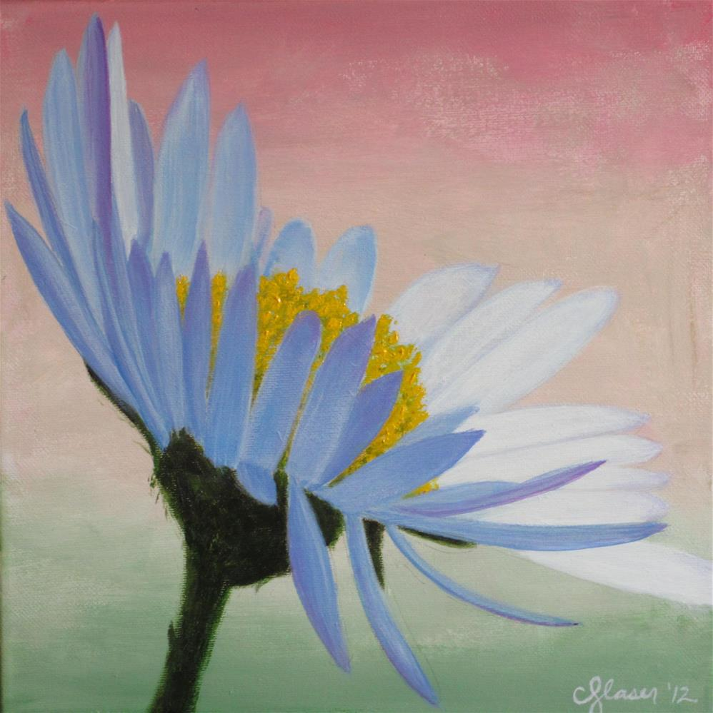 """Easter Daisy"" original fine art by christina glaser"