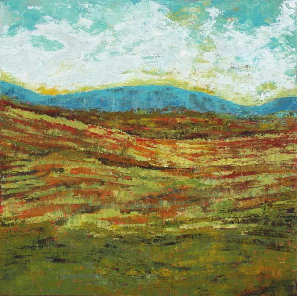"""The Ragged Hills"" original fine art by Sage Mountain"