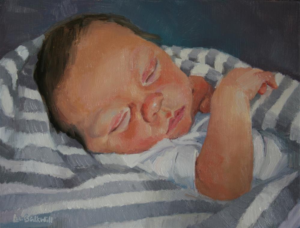 """New born"" original fine art by Liz Balkwill"