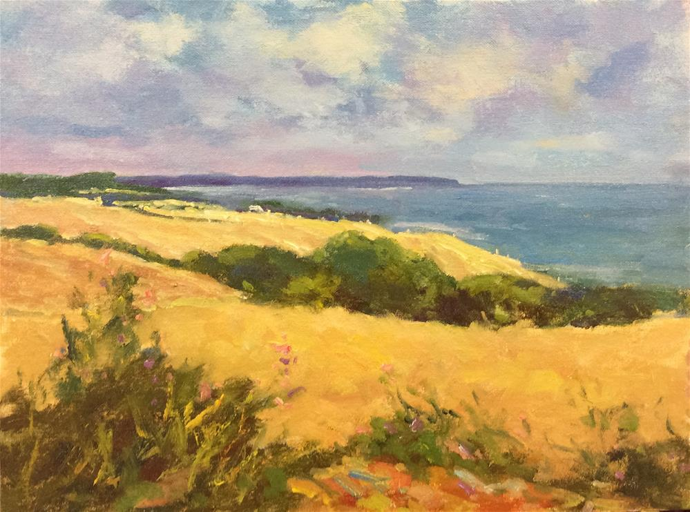 """Summer Landscape..Fairlight"" original fine art by John Shave"