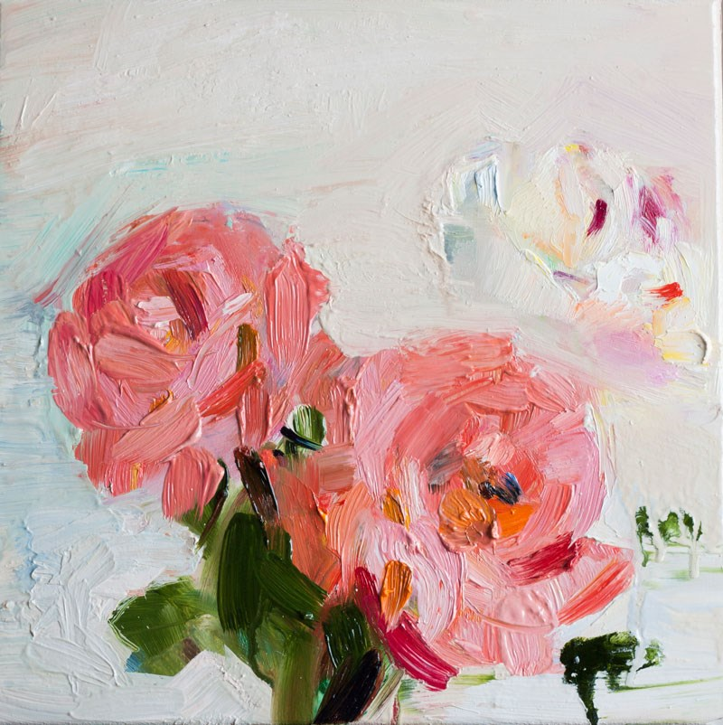 """Three Roses"" original fine art by Anna  Fine Art"