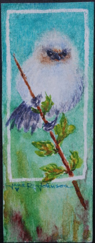 """Little Bird"" original fine art by Jana Johnson"