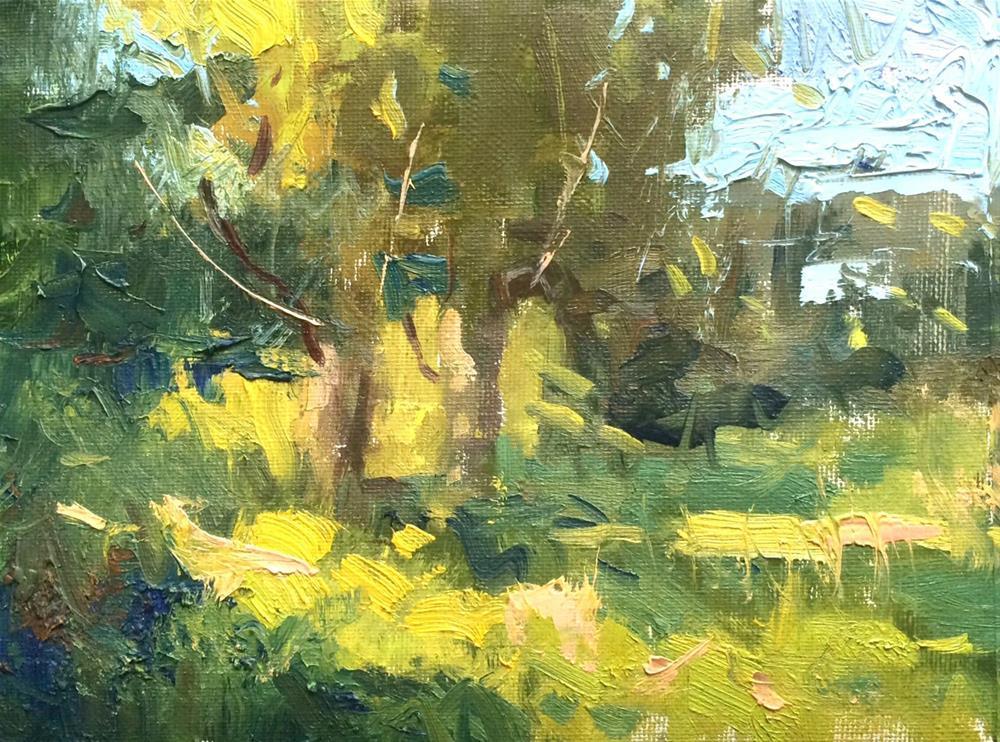 """Late Summer Trees "" original fine art by Michael Clark"