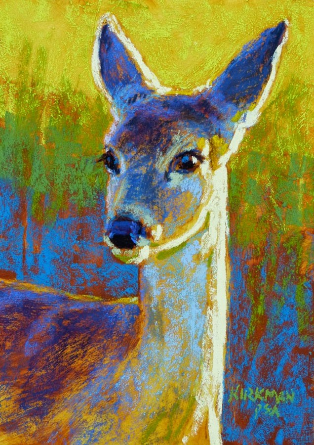 """Zephyr - day 14"" original fine art by Rita Kirkman"