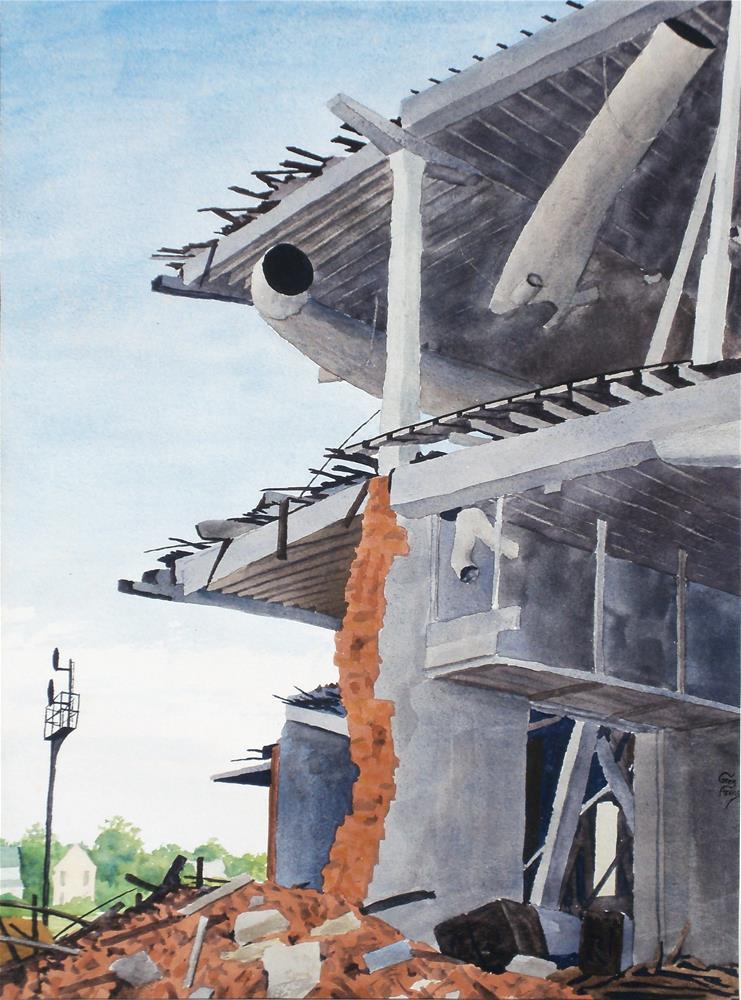 """Fallen Champion"" original fine art by Greg Arens"