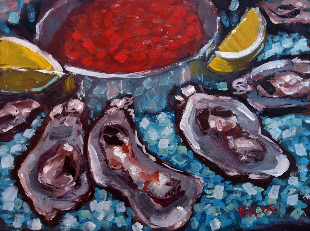"""Blue Oyster Cult"" original fine art by Rick Nilson"