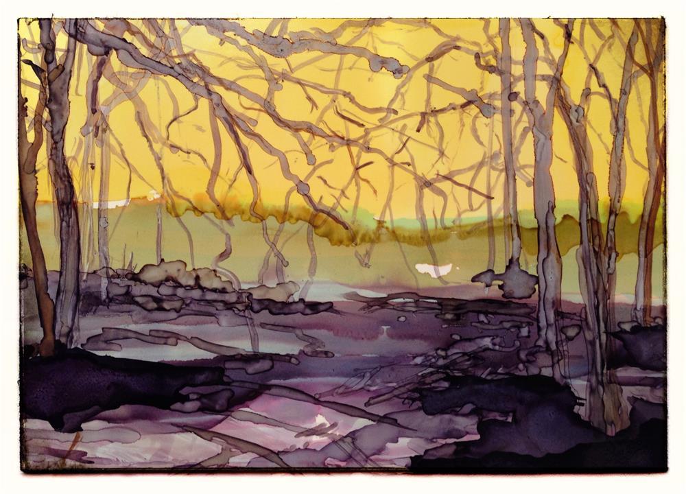 """November"" original fine art by Kelly Alge"