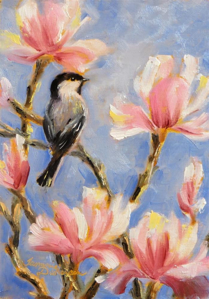 """In the Magnolia"" original fine art by Tammie Dickerson"