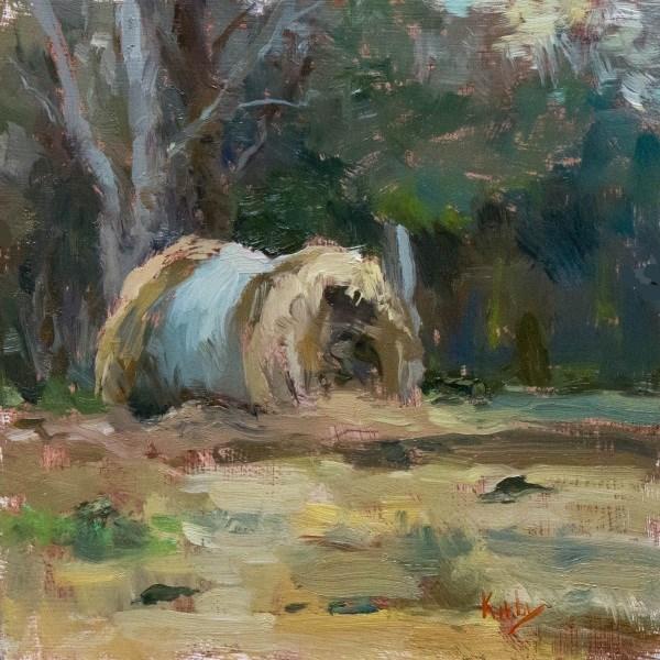 """Winters Light"" original fine art by Randall Cogburn"