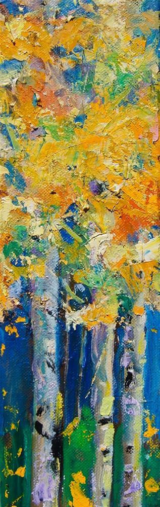 """""""Bright Forest"""" original fine art by Reveille Kennedy"""