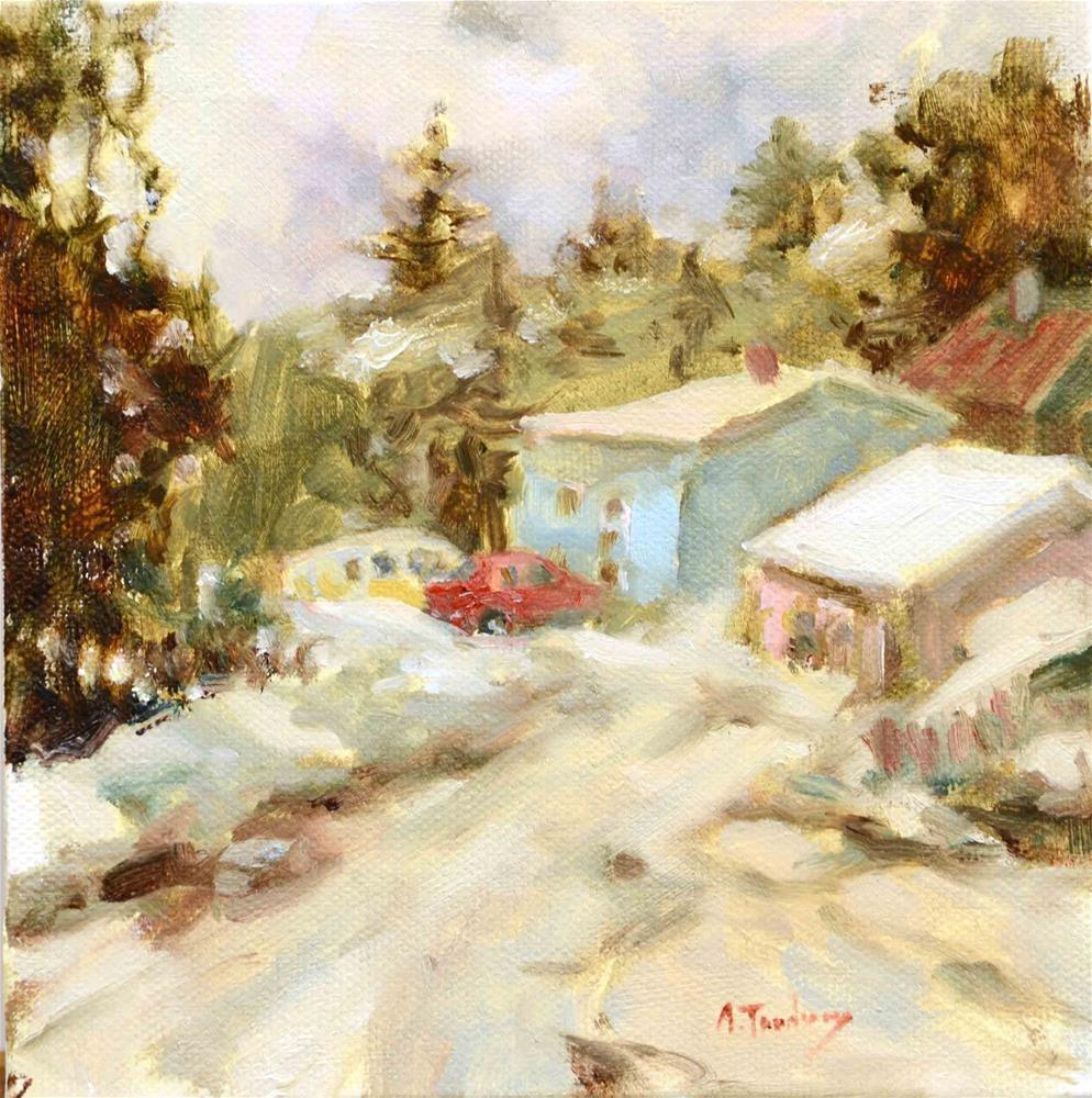 """Somewhere in Alaska"" original fine art by alicia tredway"