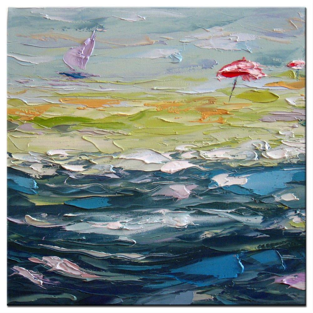 """Trade wind"" original fine art by Elena Lunetskaya"