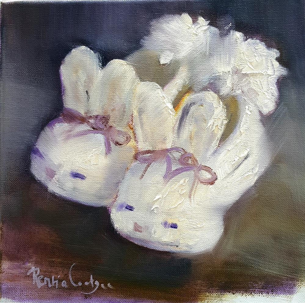 """Gift from Grandma"" original fine art by Rentia Coetzee"