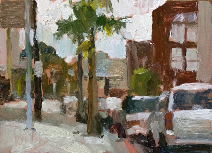 """""""Pompino"""" original fine art by Randall Cogburn"""