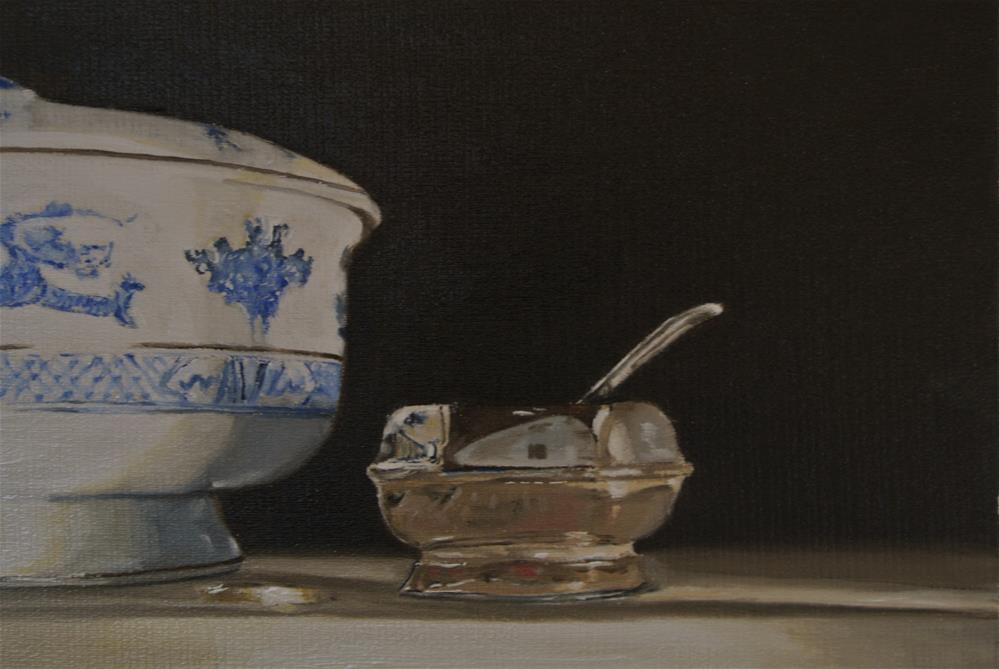 """Mustard Pot etc"" original fine art by James Coates"