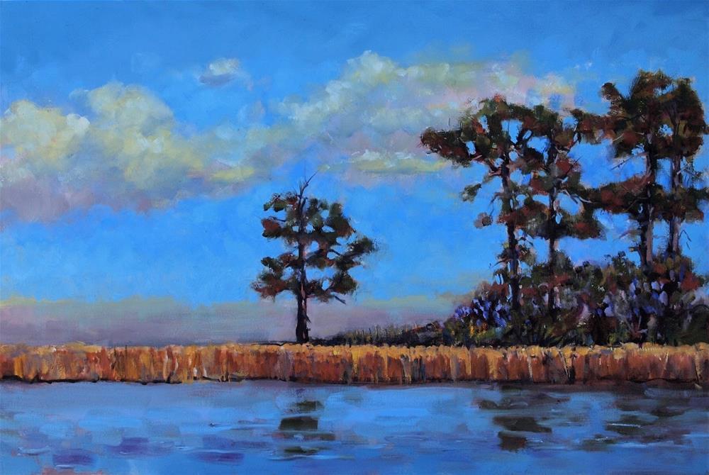 """""""Avery Pond"""" original fine art by Rick Nilson"""