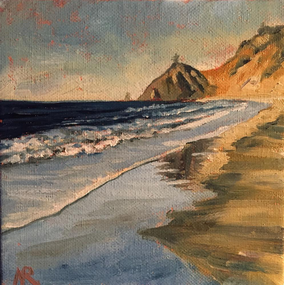 """Cascade Head"" original fine art by Natasha Ramras"
