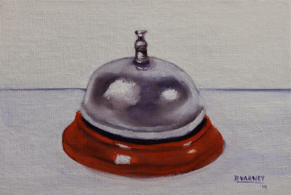 """Ring Bell For Service"" original fine art by Daniel Varney"