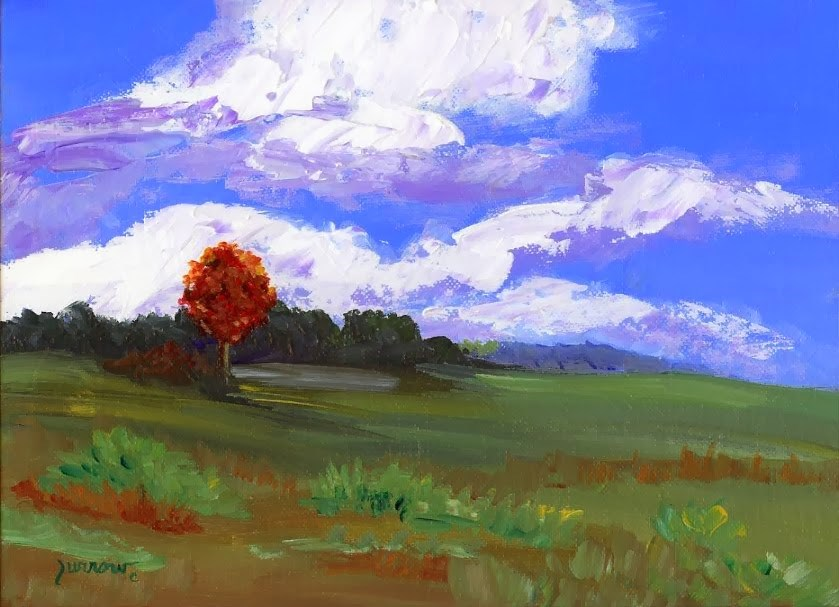 """Parkway No.One - Near Floyd, Va."" original fine art by Sue Furrow"