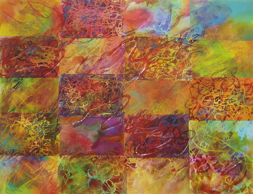 """Twenty days of Autumn"" original fine art by Priscilla Bohlen"