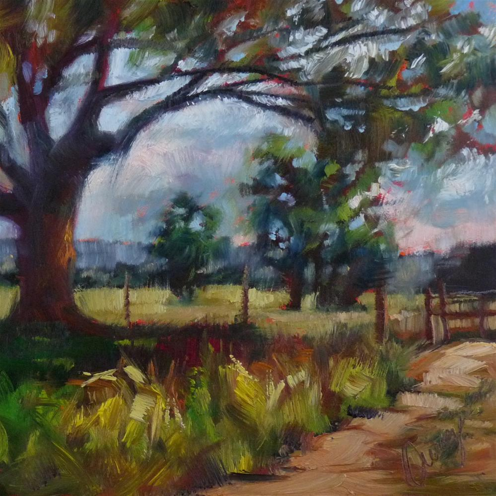 """Gated Community"" original fine art by Sharman Owings"