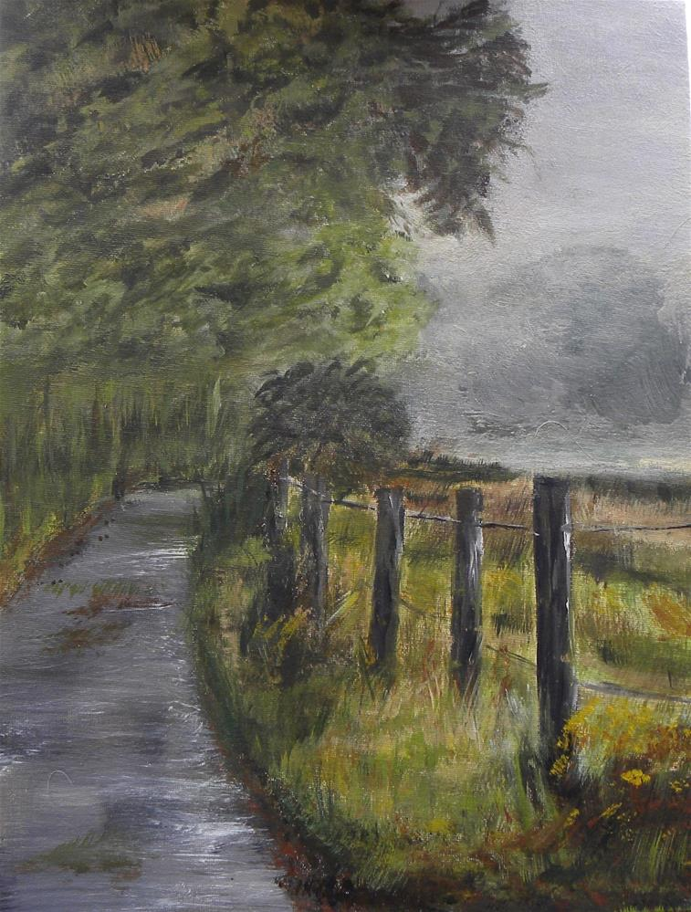 """Kentucky Backroad"" original fine art by cheryl buhrman"