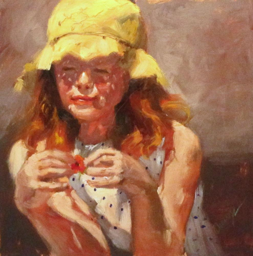 """""""Let Me Count The Ways"""" original fine art by Sharman Owings"""