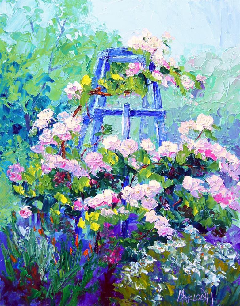 """Summer Essence"" original fine art by Marion Hedger"