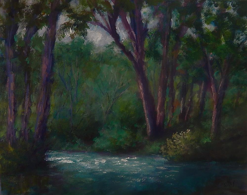 """Serenity"" original fine art by Sharon Kay Baker"