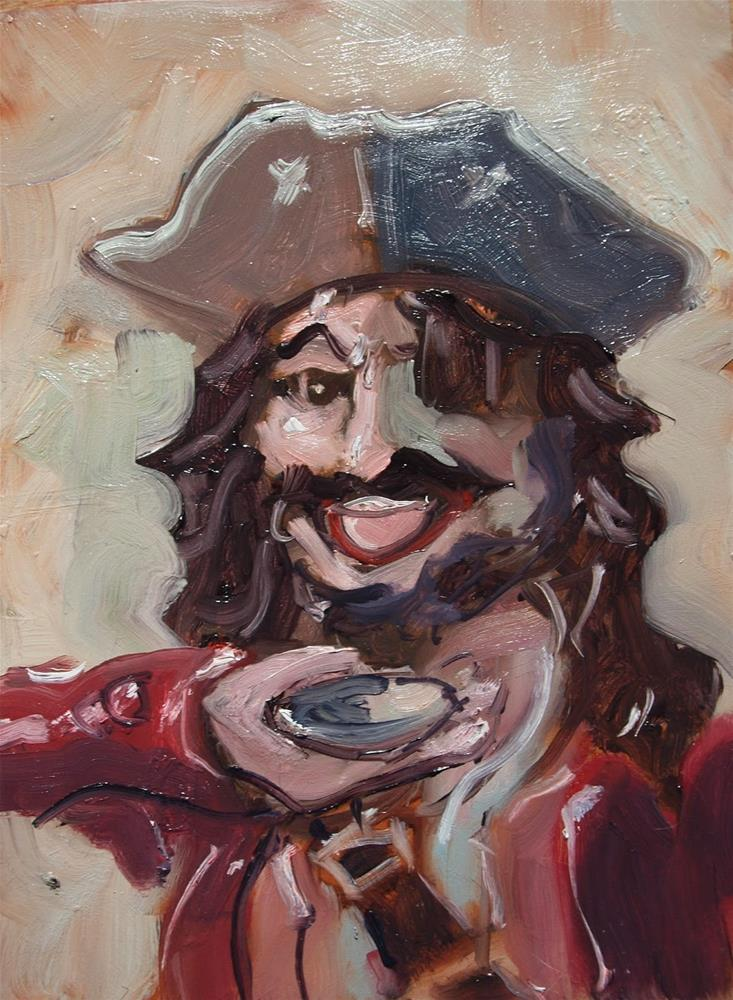 """Copyright Aargh"" original fine art by Rick Nilson"