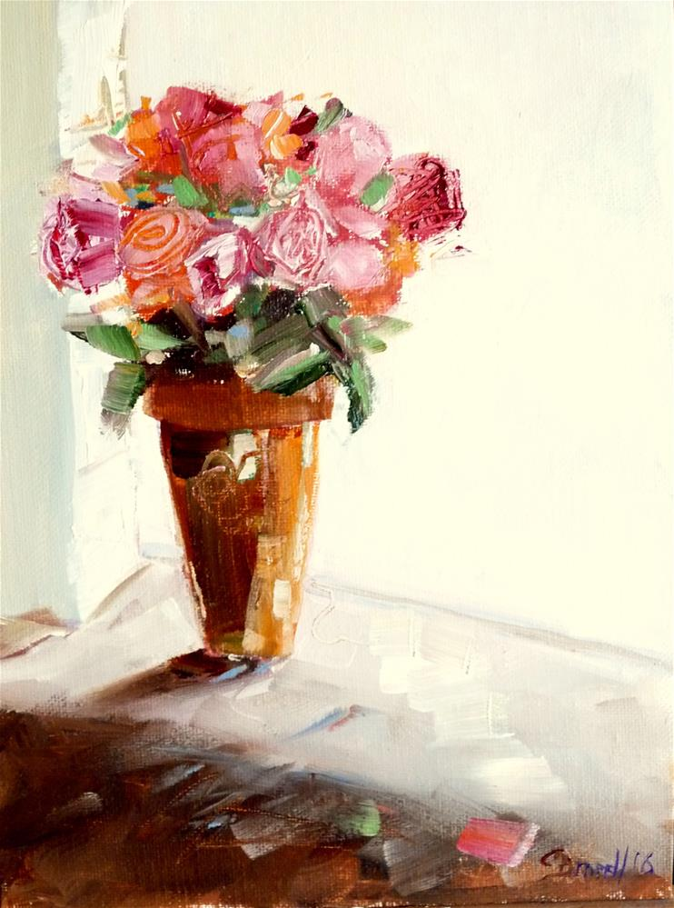 """Bouquet"" original fine art by Claudia Brandt"