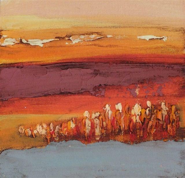 """Landscape 77"" original fine art by Ewa Kunicka"