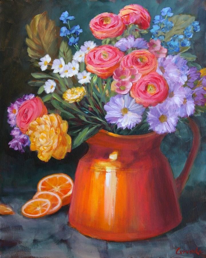 """""""Daily Dose"""" original fine art by Sue Cervenka"""