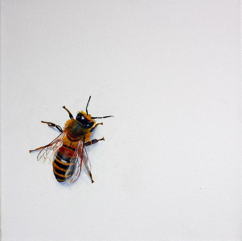 """""""A BEE"""" original fine art by Suzanne Berry"""