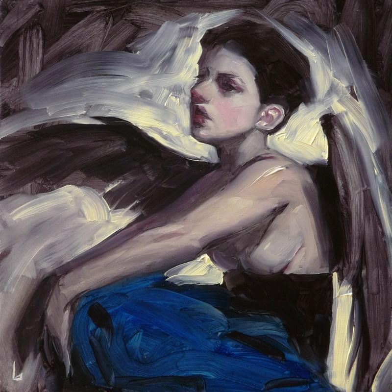 """""""Little Wings"""" original fine art by John Larriva"""