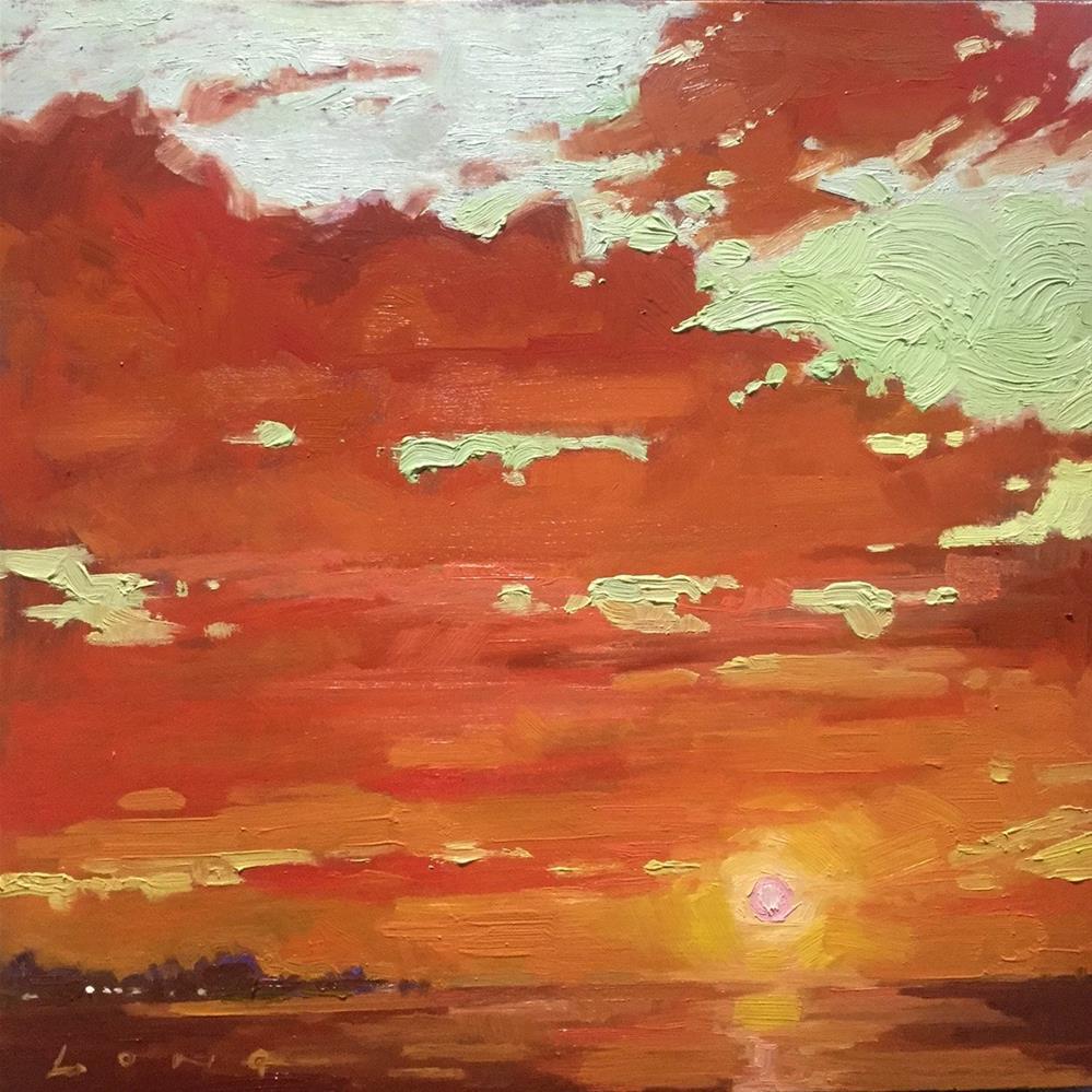 """Malibu"" original fine art by Chris Long"