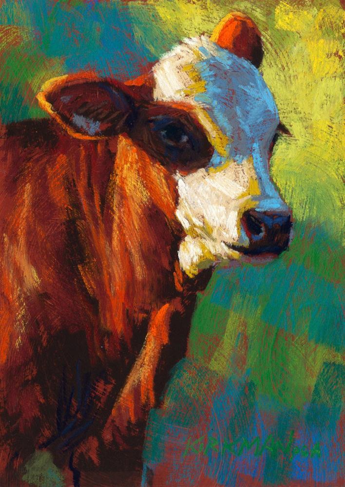 """Cayenne"" original fine art by Rita Kirkman"