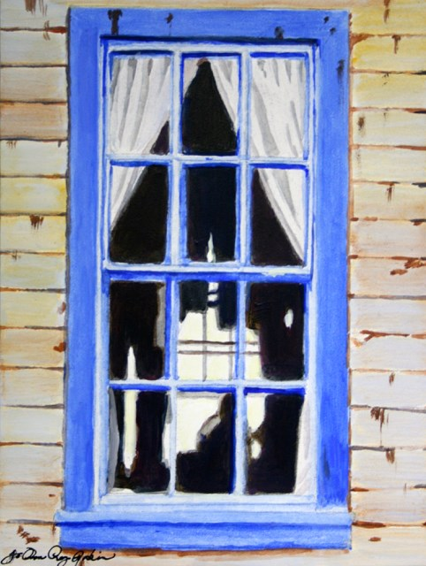 """Outside Looking In"" original fine art by JoAnne Perez Robinson"